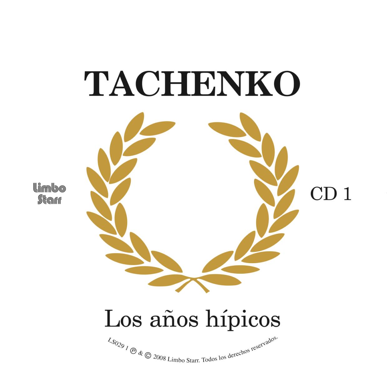 Tachenko Los años hipicos Label CD