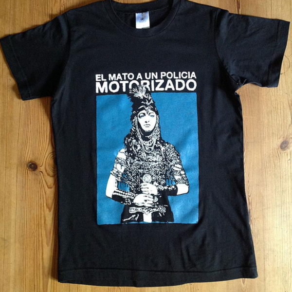 Camiseta El mató a un policía motorizado negra