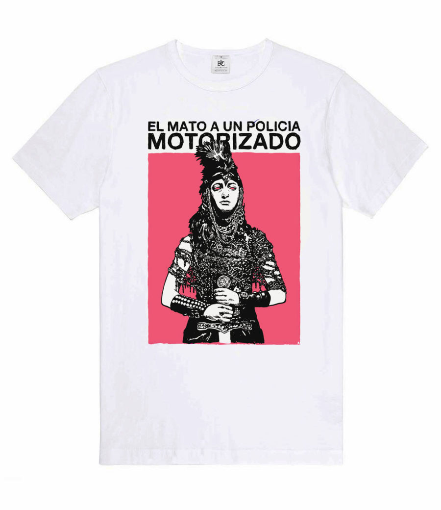Camiseta El mató a un policía motorizado rosa