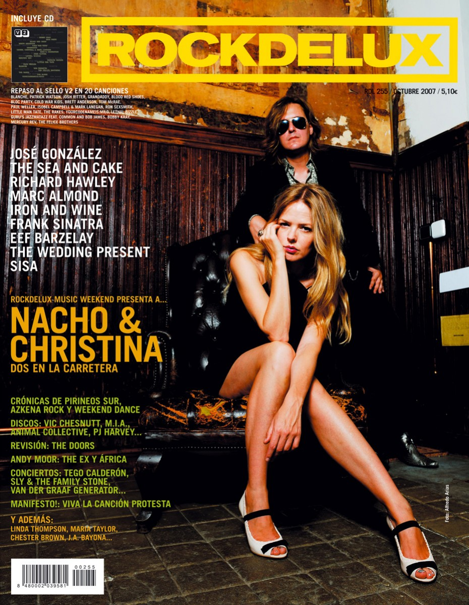 Portada Rockdelux Nacho y Christina