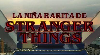 La niña rarita de Stranger Things